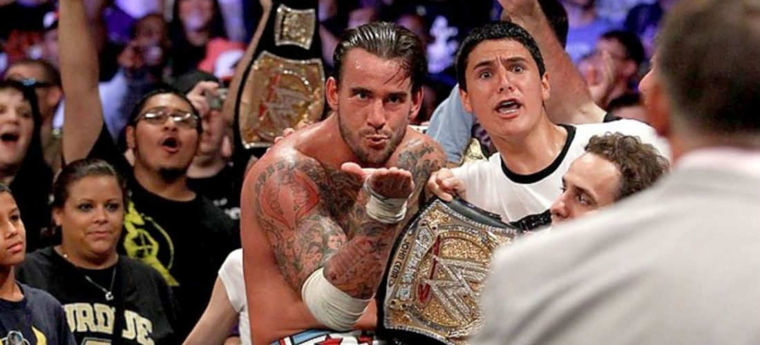 CM Punk Money In The Bank 2011